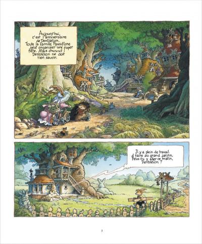 Page 3 La famille passiflore tome 1 - L'anniversaire de Dentdelion