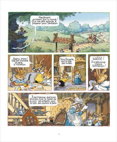 Page 5 La famille passiflore tome 1 - L'anniversaire de Dentdelion
