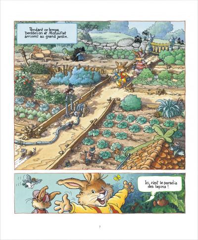 Page 7 La famille passiflore tome 1 - L'anniversaire de Dentdelion