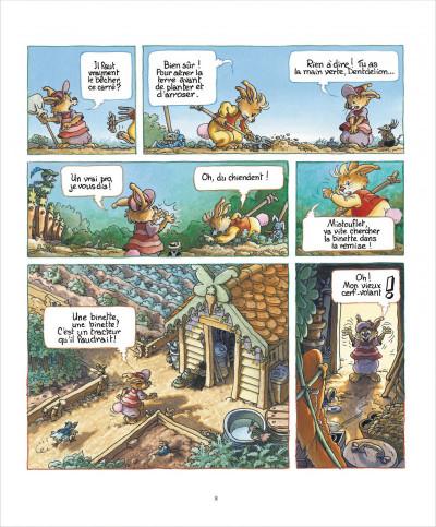 Page 8 La famille passiflore tome 1 - L'anniversaire de Dentdelion