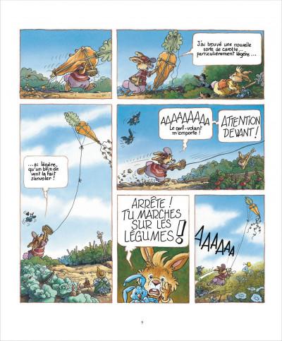 Page 9 La famille passiflore tome 1 - L'anniversaire de Dentdelion