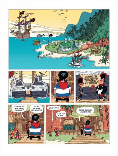 Page 2 La famille pirate tome 1 - Les Naufragés