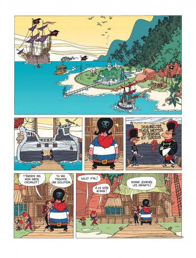 Page 3 La famille pirate tome 1 - Les Naufragés