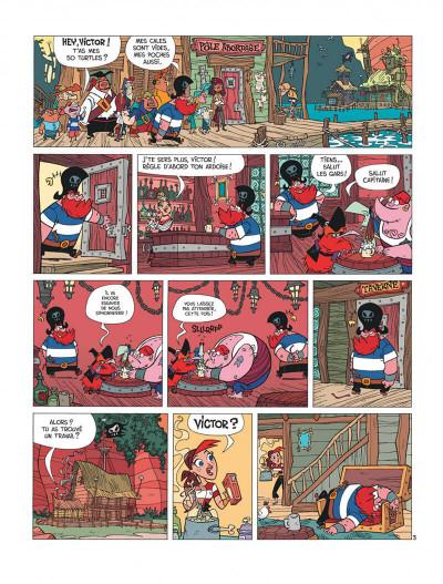 Page 5 La famille pirate tome 1 - Les Naufragés
