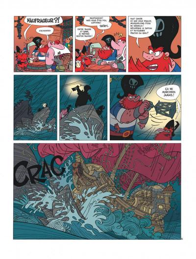 Page 8 La famille pirate tome 1 - Les Naufragés
