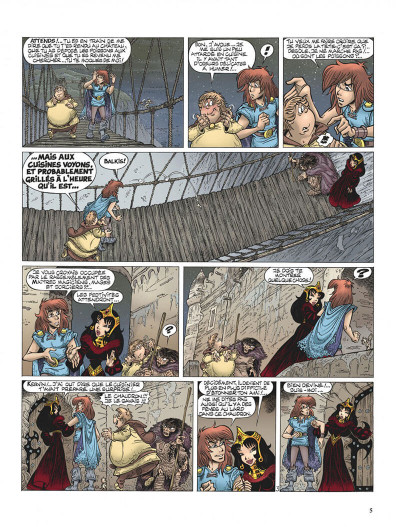 Page 5 Percevan tome 15 - le huitième royaume
