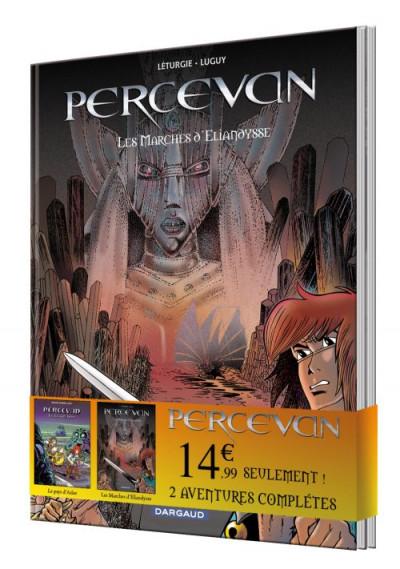 Couverture Percevan - pack découverte tome 4 + tome 14