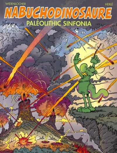 Couverture Nab tome 6 - paleolithic sinfonia