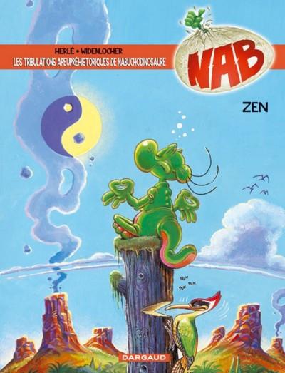 Couverture Nab tome 12 - zen