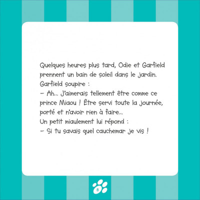 Page 8 Garfield et cie tome 8 - prince Miaou