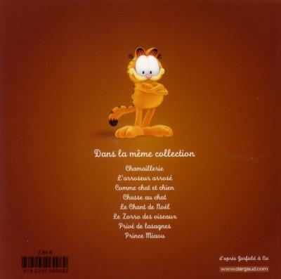 Dos Garfield et cie tome 6 - privé de lasagnes