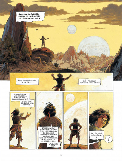 Page 3 Griffe blanche tome 1