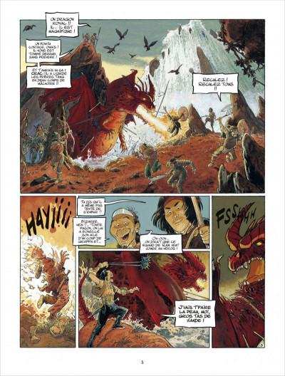 Page 5 Griffe blanche tome 1