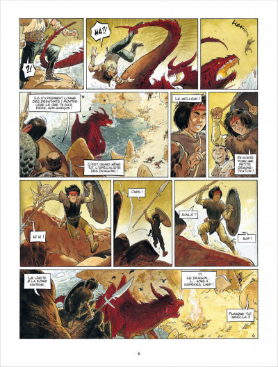 Page 6 Griffe blanche tome 1