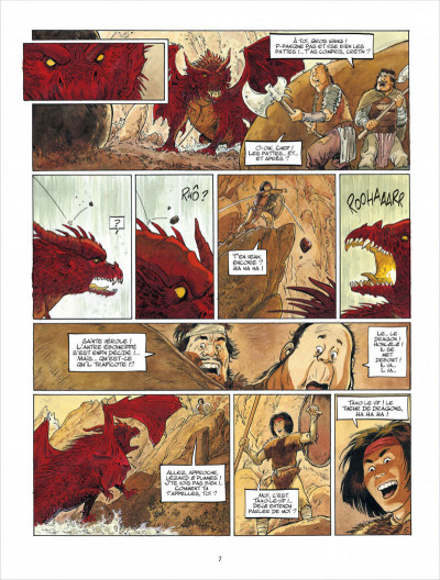 Page 7 Griffe blanche tome 1