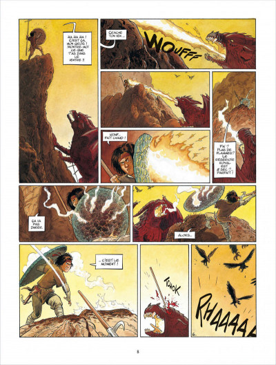 Page 8 Griffe blanche tome 1