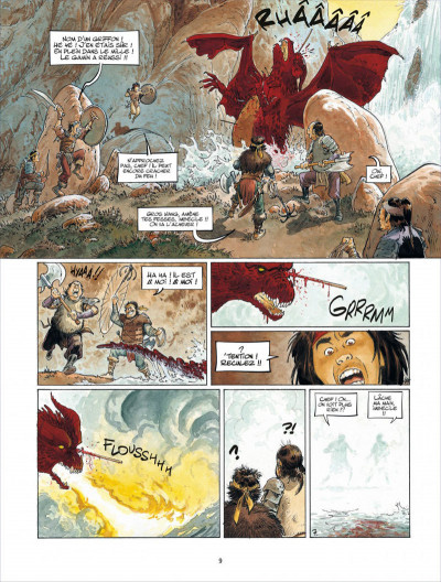 Page 9 Griffe blanche tome 1
