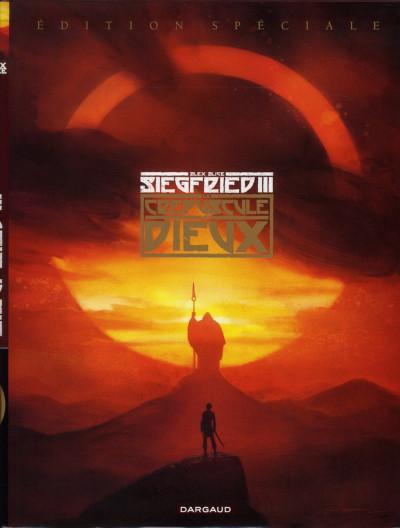 Couverture Siegfried tome 3 - édition spéciale
