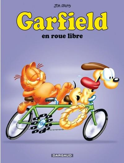 Couverture Garfield tome 29 - en roue libre