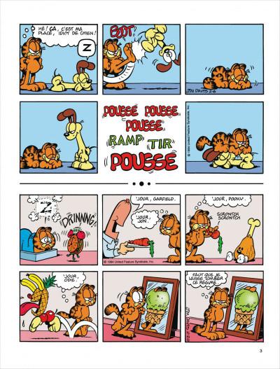 Page 3 Garfield tome 29 - en roue libre