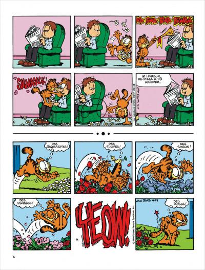 Page 6 Garfield tome 29 - en roue libre