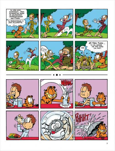 Page 7 Garfield tome 29 - en roue libre