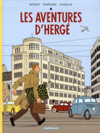Couverture Les aventures d'Hergé