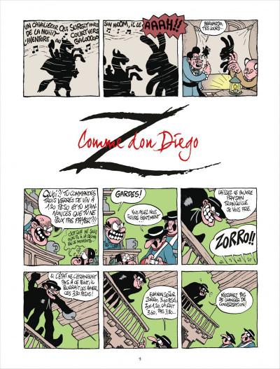 Page 3 Z comme Don Diego tome 1 - Coup de foudre à l'hacienda