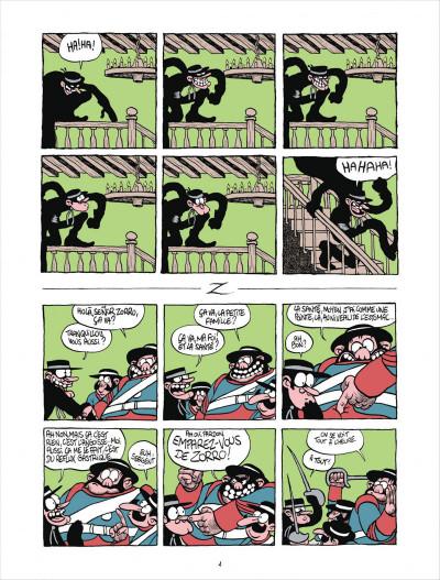 Page 4 Z comme Don Diego tome 1 - Coup de foudre à l'hacienda