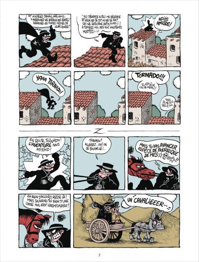 Page 7 Z comme Don Diego tome 1 - Coup de foudre à l'hacienda