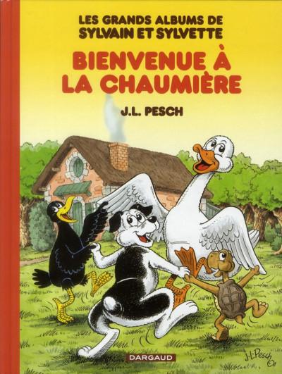 Couverture Sylvain et Sylvette - intégrale tome 1 - bienvenue à la chaumière