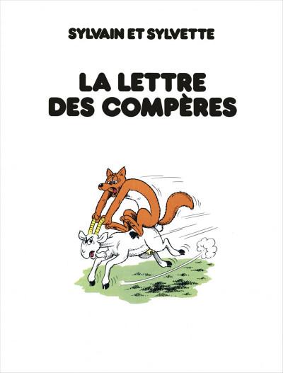 Page 3 Sylvain et Sylvette - intégrale tome 1 - bienvenue à la chaumière
