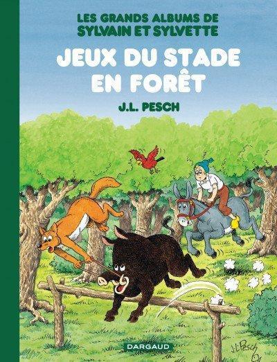 Couverture Sylvain & Sylvette - intégrale tome 2 - jeux du stade en forêt