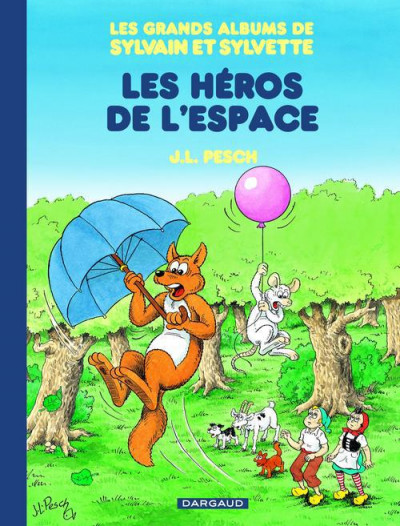 image de Les grands albums de Sylvain & Sylvette tome 3 - les héros de l'espace