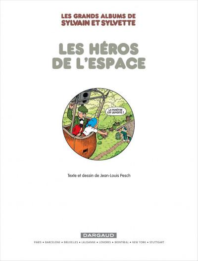 Page 3 Sylvain & Sylvette - intégrale tome 3 - les héros de l'espace