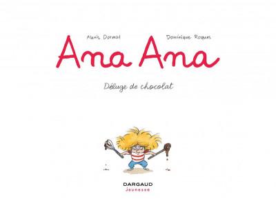 Page 3 Ana Ana tome 2 - déluge de chocolat