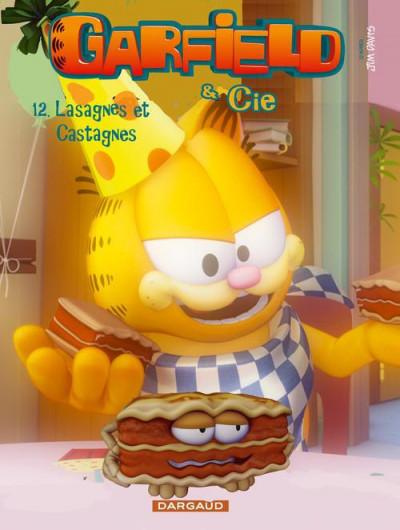 Couverture Garfield & cie tome 12 - lasagnes et castagnes