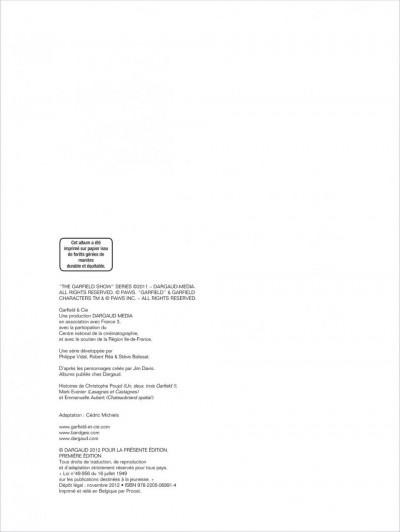 Page 1 Garfield & cie tome 12 - lasagnes et castagnes