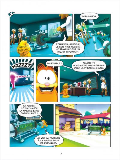 Page 5 Garfield & cie tome 12 - lasagnes et castagnes