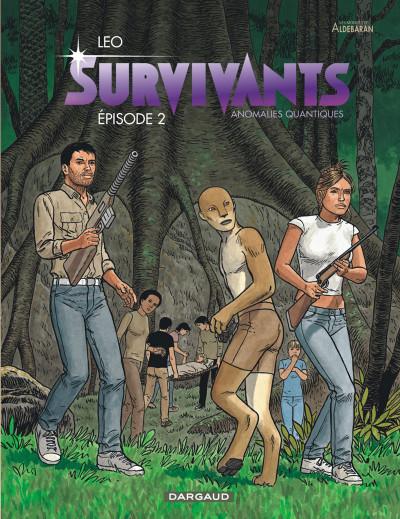 Couverture Survivants, anomalies quantiques tome 2