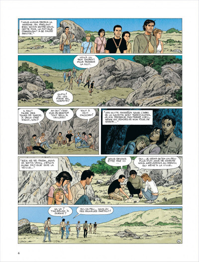 Page 4 Survivants, anomalies quantiques tome 2