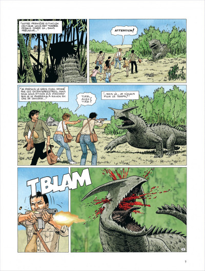 Page 5 Survivants, anomalies quantiques tome 2