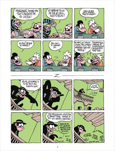Page 4 Z comme don Diego tome 2 - la loi du marché