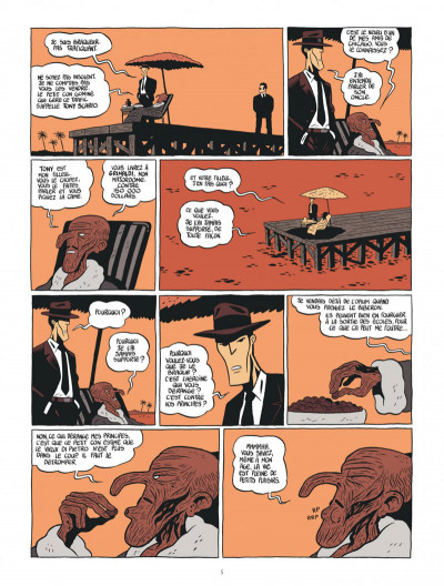 Page 5 Tyler Cross tome 1