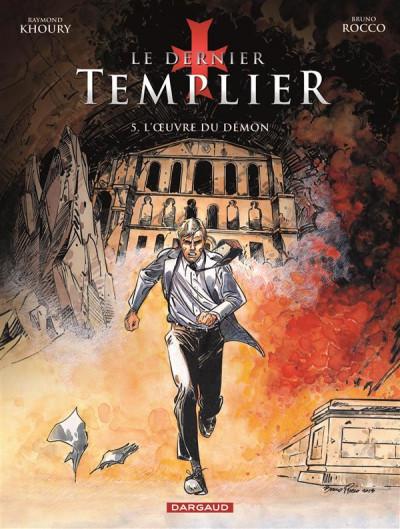 Couverture Le dernier Templier tome 5