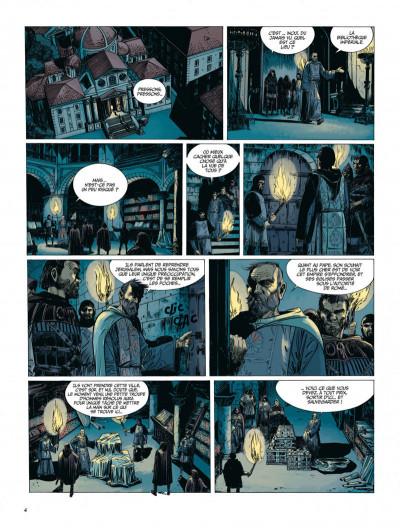 Page 4 Le dernier Templier tome 5