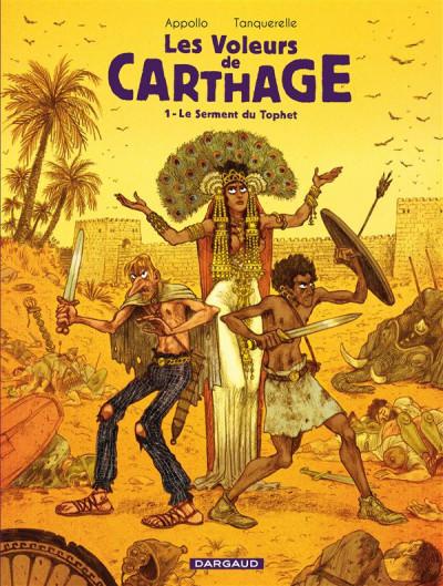 Couverture Les voleurs de Carthage tome 1 - le serment du Tophet