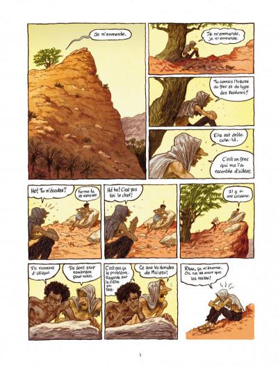 Page 3 Les voleurs de Carthage tome 1 - le serment du Tophet