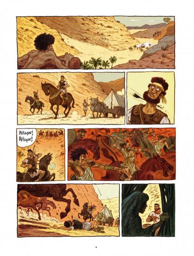 Page 4 Les voleurs de Carthage tome 1 - le serment du Tophet