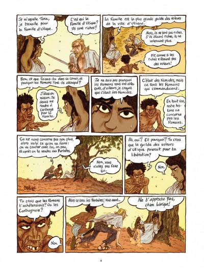 Page 8 Les voleurs de Carthage tome 1 - le serment du Tophet